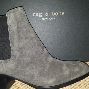 Walker Boot Suede Block Heel Rag and Bone